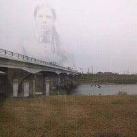 Photo taken at 千歳橋 by GATTACA on 1/15/2012