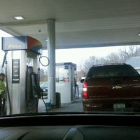 Photo taken at Mobil Northbound by Melody d. on 11/27/2011