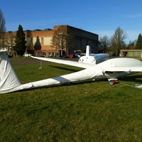 Photo taken at Windrushers Gliding Club by Sunay S. on 4/1/2012
