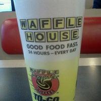 Photo taken at Waffle House by Rebecca M. on 11/23/2011