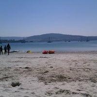 Photo taken at Praia De Ares by Javier B. on 7/31/2012