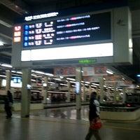 Photo taken at Hankyu Umeda Station (HK01) by KAZ I. on 1/8/2012