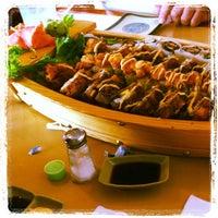 Photo taken at Sushi Cafe & Shilla Korean Restaurant by Rocio V. on 11/27/2011