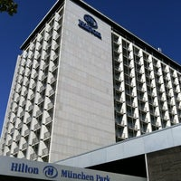 Photo taken at Hilton Munich Park by Kent R. on 9/17/2011