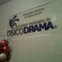 Photo taken at Sociedad Mexicana de Psicodrama by Roberto R. on 12/19/2011