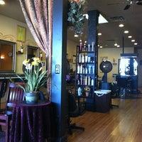 Photo taken at Pomponi's Salon by Mitch M. on 3/13/2012