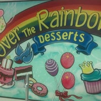 Photo taken at Over the Rainbow Desserts by Jim H. on 5/23/2012