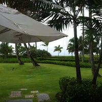 Photo taken at Four Seasons Resort Nevis, West Indies by Jennifer T. on 8/22/2012