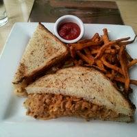 Photo taken at Leaf Vegetarian Restaurant by James M. on 3/7/2012
