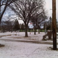 Photo taken at Assiniboine Park Zoo South Gate Tram Stop by Robin F. on 12/24/2011