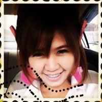 Photo taken at Bangkok University Carpark by 🌸ARiiS🐤 on 1/28/2012