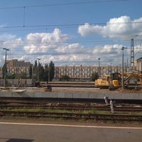 Photo taken at Warsaw East Railway Station by Kaszpir on 8/28/2011