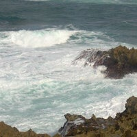 Photo taken at Laie Point by Manny L. on 11/5/2011
