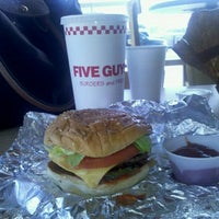 Photo taken at Five Guys by Karen K. on 8/11/2011