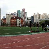 Photo taken at 언북초등학교 운동장 by 빠 동. on 11/27/2011