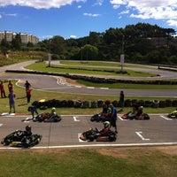 Photo taken at Kartódromo Internacional de Farroupilha by Ana Carolina M. on 3/18/2012