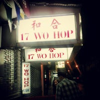 Photo taken at Wo Hop Restaurant by Alexander P. on 7/30/2012