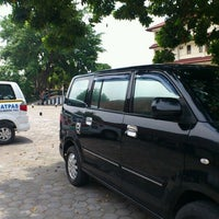 Photo taken at Lapangan Asrama Aspol by Hesti I. on 3/13/2012