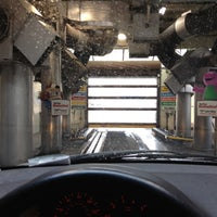 Photo taken at Mike's Express Car Wash by Jacklyn H. on 4/30/2012