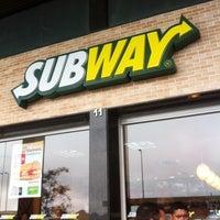 Photo taken at Subway by 💀Bruno F. on 3/23/2012