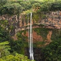 Photo taken at Chamarel Waterfall by Nicholas M. on 8/10/2012