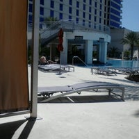 Photo taken at Hard Rock Pool by Mary V. on 8/24/2012