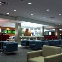 Photo taken at Delta Sky Club by Jarett S. on 9/19/2011