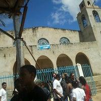 Photo taken at Igreja N. Senhora D Abadia Do Mesquita by Rosilene P. on 1/22/2012