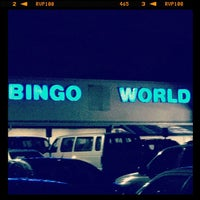 Photo taken at Bingo World by Bryan B. on 10/30/2011