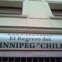 Photo taken at El regreso de Winnipeg Chile by Está en tu Mundo B. on 10/4/2011