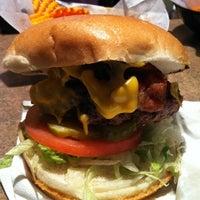 Photo taken at Stella's Hamburgers by Jeff S. on 11/5/2011