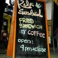 Photo taken at Kedai Royal Sandwich by Saydin I. on 1/8/2012