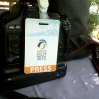 Photo taken at Hua Hin International Film Festival 2012 by Mr.Mai R. on 1/29/2012
