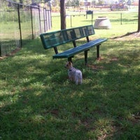 Photo taken at Mill Creek Geeenway - Dog Park by Brian G. on 8/17/2011