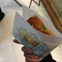 Photo taken at Auntie Anne's by Michael O. on 12/31/2011