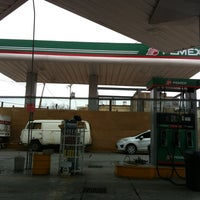 Photo taken at Gasolinera Boulevard Y Rio Nilo by Psic B. on 2/16/2012