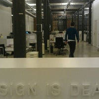 Photo taken at Design Is Dead by Stijn D. on 3/8/2012