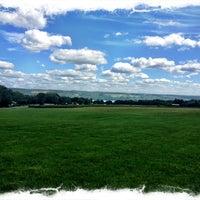 Photo taken at Lucas Vineyards by Aric B. on 8/18/2012