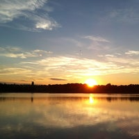 Photo taken at Chestnut Hill Reservoir by Jo on 7/11/2012