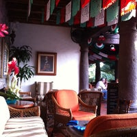Photo taken at Las Mañanitas Hotel, Garden, Restaurant & Spa by Anggie G. on 9/17/2011