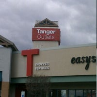 Photo taken at Tanger Outlet Riverhead by Stefan on 12/28/2011