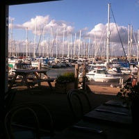 Photo taken at Boat House Cafe by Anne W. on 6/30/2012