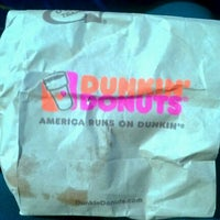 Photo taken at Dunkin' Donuts by Sara B. on 5/20/2012
