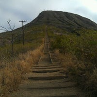Photo taken at Kokohead rail trail by Melissa V. on 11/29/2011