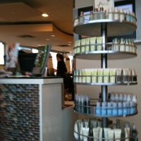 Photo taken at Voila Salon and Spa by Kim B. on 12/21/2011