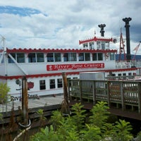 Photo taken at River Rose Party Boat by Grace B. on 7/27/2012