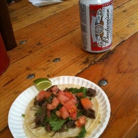 Photo taken at El Diablo Tacos by daniel H. on 5/7/2011