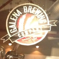 Photo taken at Galena Brewing Company by Mandy M. on 3/29/2012