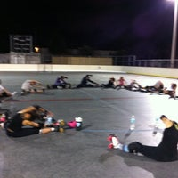 Photo taken at Suniland Roller Hockey Court by Flavia F. on 11/28/2011