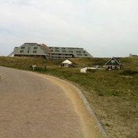 Photo taken at Sandton Paal 8 Hotel aan Zee by Mark M. on 4/26/2011
